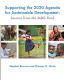 Supporting the 2030 Agenda for Sustainable Development: Lessons from the MDG Fund